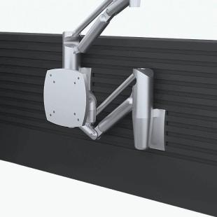 Крепежная панель SlatWall для размещения на рабочее место диспетчера